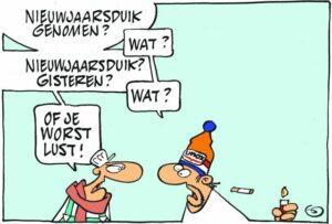 Nieuwjaarsduik en - drink 2022 @ Put van Ekeren
